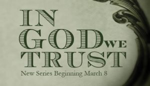 In God We Trust new series graphic