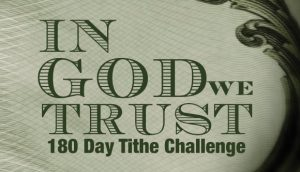 180 Day Tithe Challenge graphic