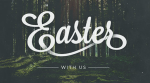 Easter with Us old graphic