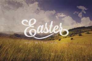 Easter With Us graphic